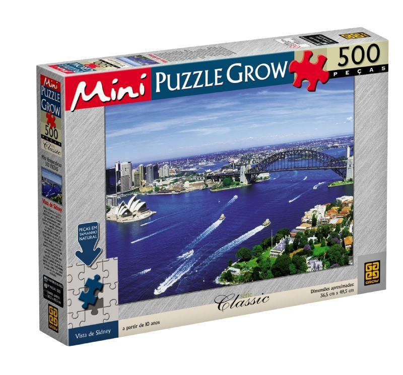 Mini Puzzle Vista de Sidney - 500 Peças - 278081