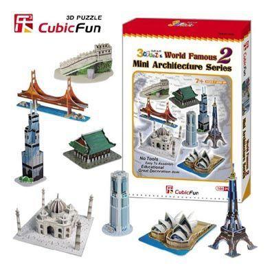 Mini World 3D Famous 2 - 144 Peças B2 - 252026
