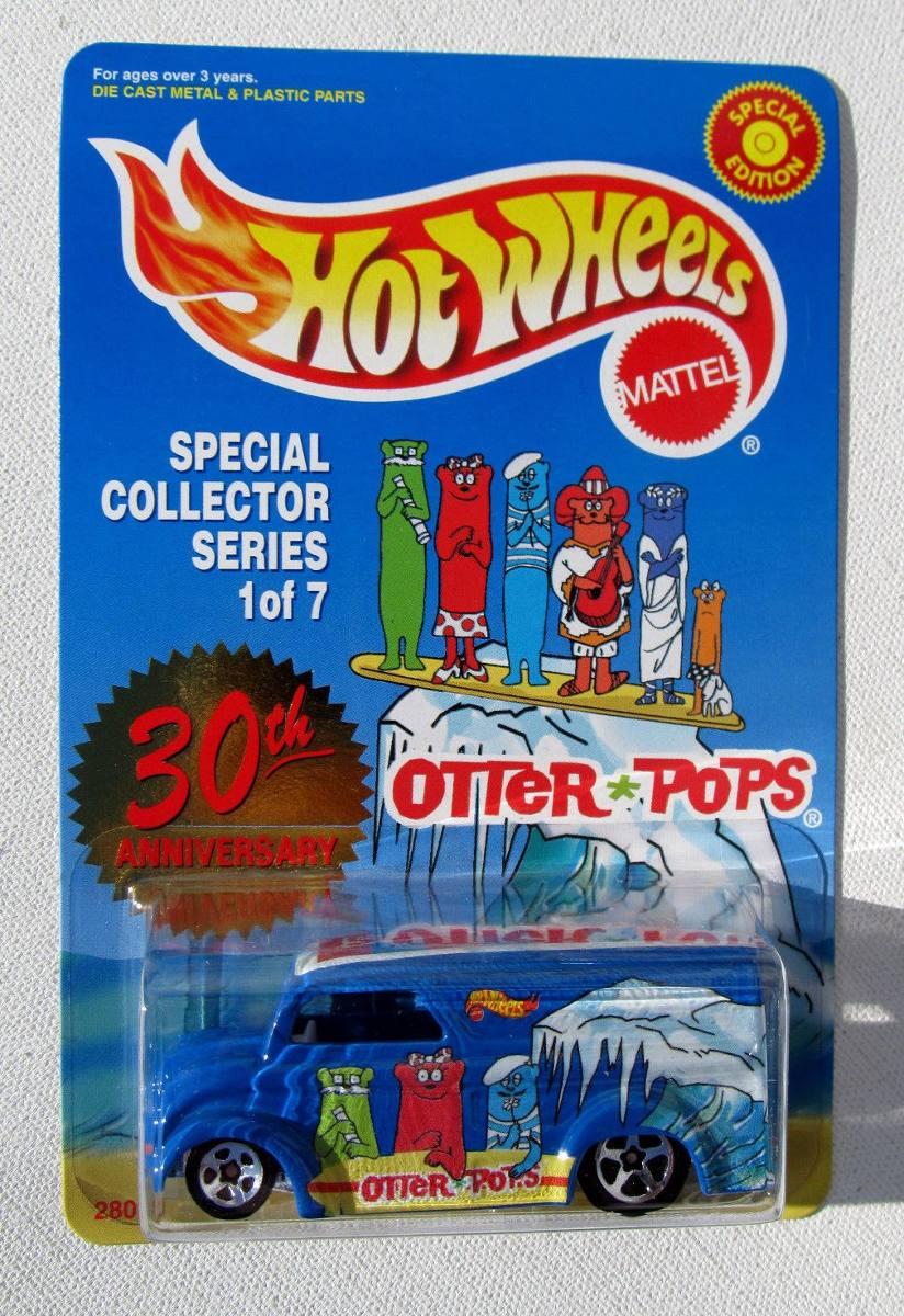 otter pops hotwheels  - R13