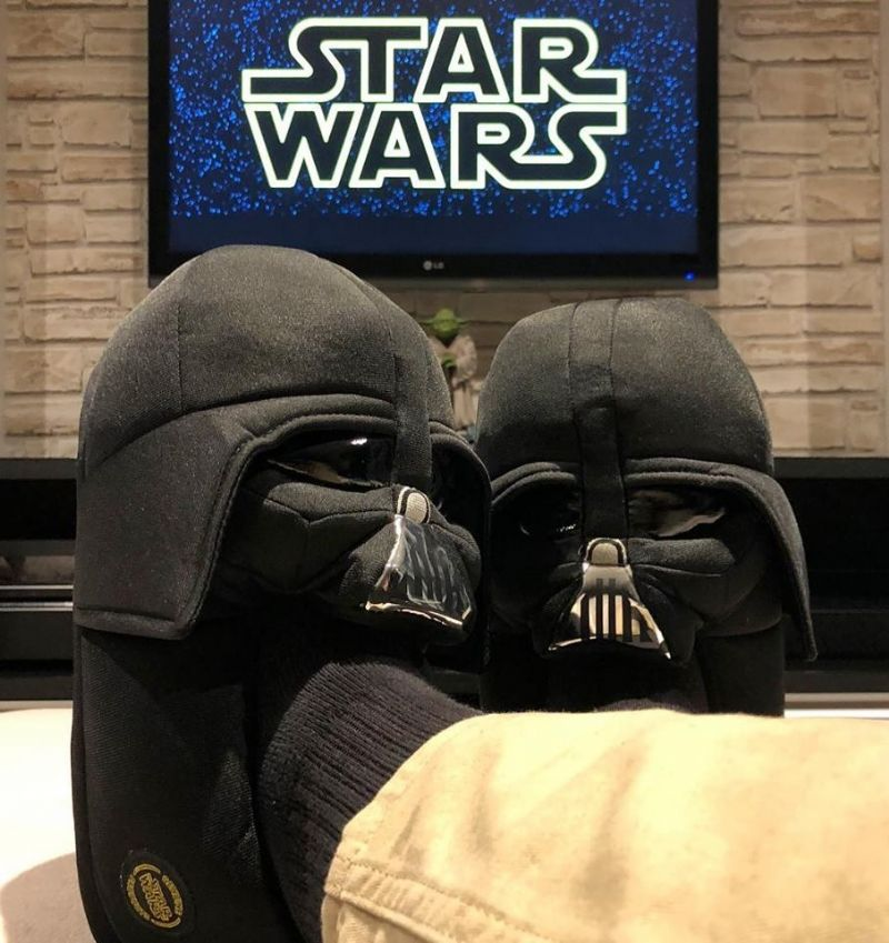 Pantufa  Star Wars - 3D Darth Vader - 379791