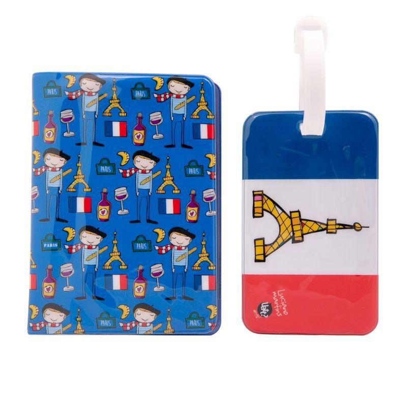 Porta Passaporte e Tag de Mala - 365927