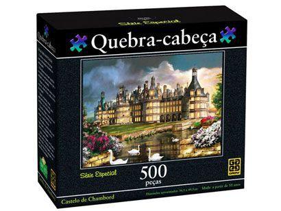 Puzzle 500 peças - Castelo de Chambord -  B6  - 250993