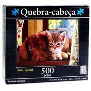 Puzzle Amizade Animal - Série Especial 500 peças -- B6  - 251237
