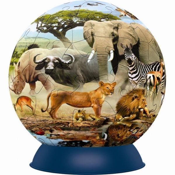 Puzzle Esférico Oásis Africano II - 60 Peças  B5 - 137514