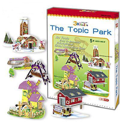 Puzzle Infantil Topic Park