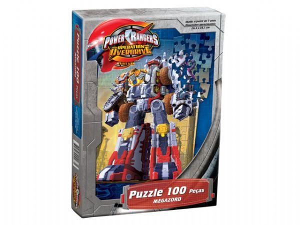 Puzzle  Power Rangers 100 Peças
