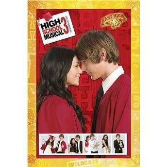 Quebra Cabeça Pôster High School Musical 3 - 150 Peças B1   - 251253