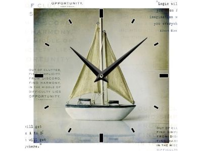 Relógio de Parede Barco - G6 306441