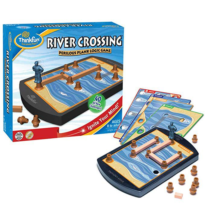 River crossing perilous plank logic game