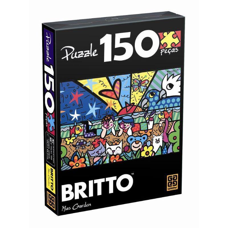 Romero Britto Mias Garden - 150 Peças   -    B4 B6 - 283997