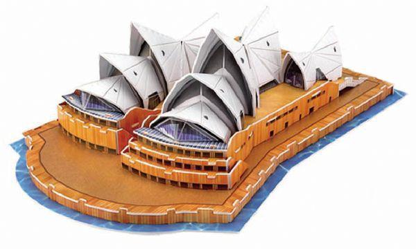 Sidney Opera 3D - 58 Peças   B2/B3  - 137544