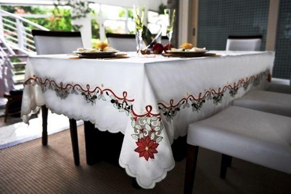 Toalha de Mesa Mehndi -  Encanto de Natal 80x80cm - 179872