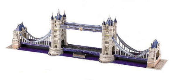Tower Bridge 3D - 120 Peças - 137547