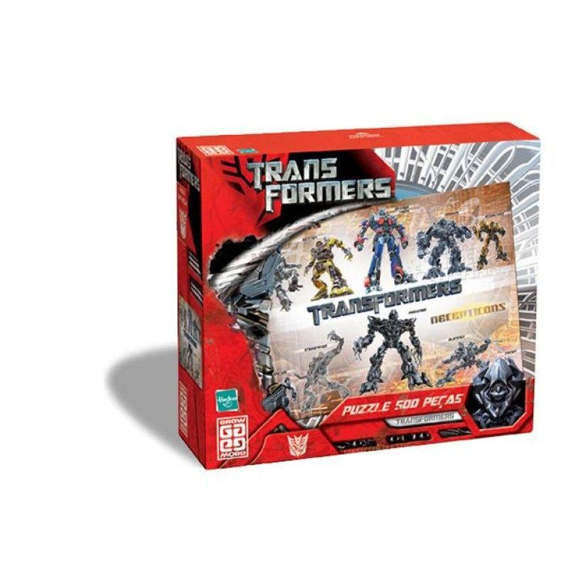 Transformers -  500 Peças  B4 - 251668