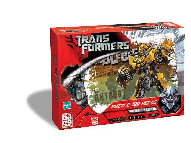 Transformers Hasbro - 100 Peças  B4  - 251295
