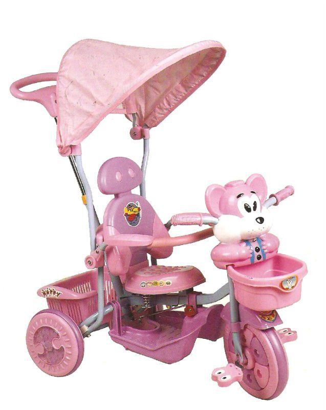 Triciclo Baby Luxo Rosa - 252070
