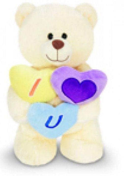 Urso Apaixonado - Creme M - 286594