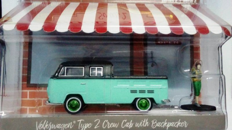Volkswagen type 2 Crew Cab With Backpacker - 380589