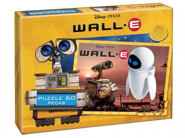 Wall.E - 60 Peças  B4/ B5/1/2 -  136548