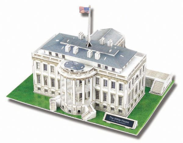 White House 3D - 64 Peças - 137533
