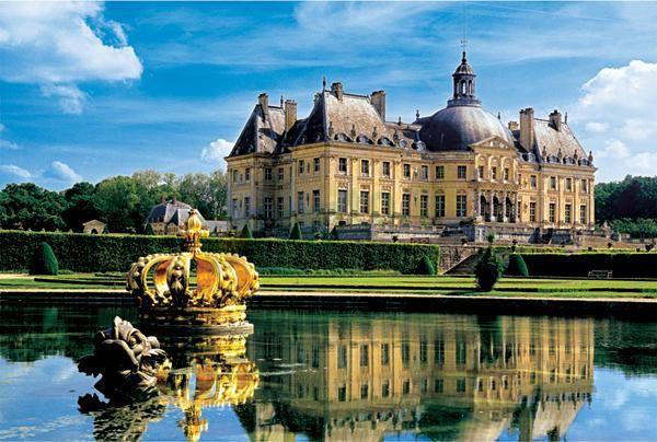 Zamek Vaux-le-Vicomte Castle - 1500 Peças - 137710