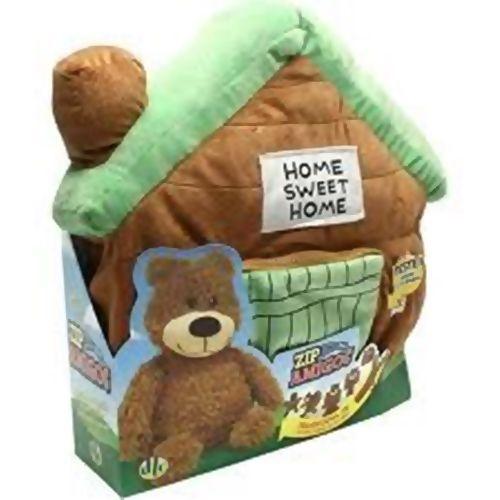 Ziper Amigos - Urso e Cabana - 257423