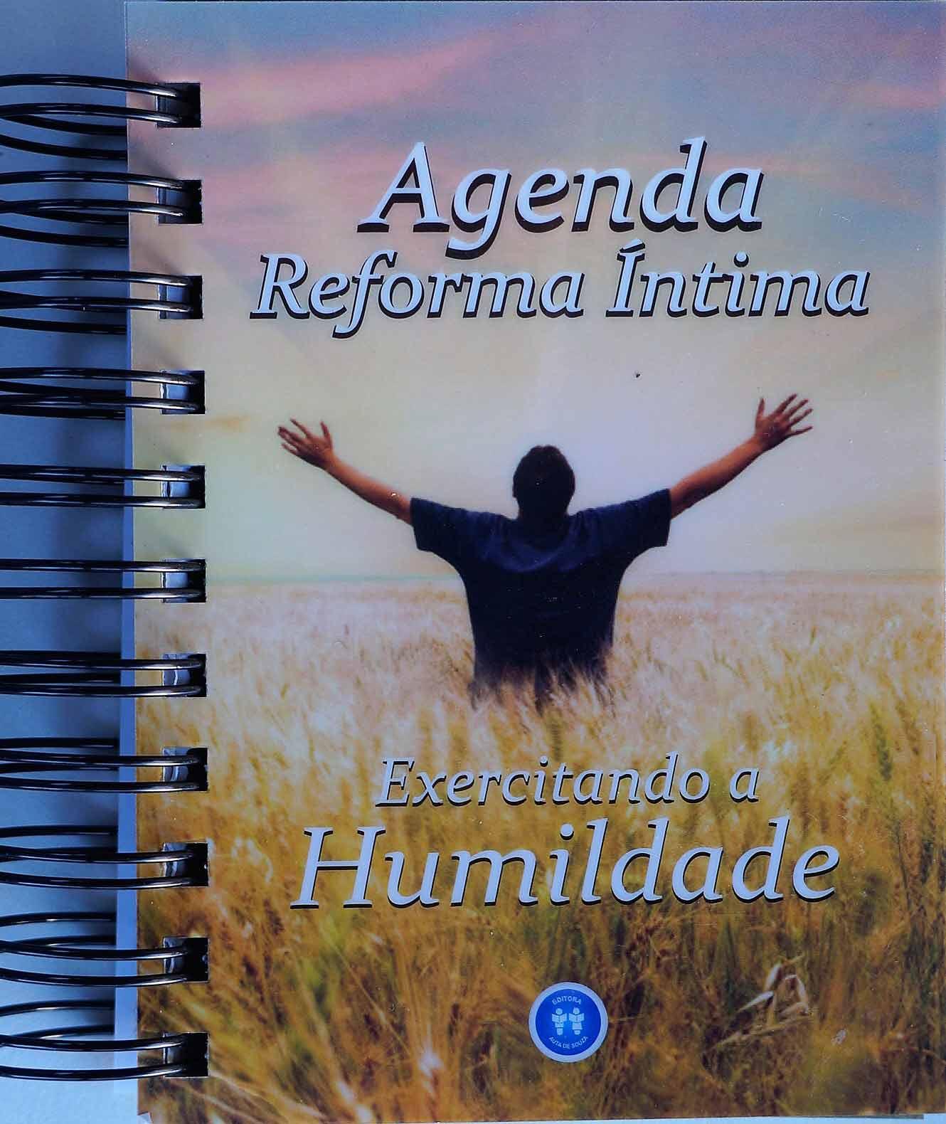 AGENDA REFORMA ÍNTIMA - EXERCITANDO A HUMILDADE 2017
