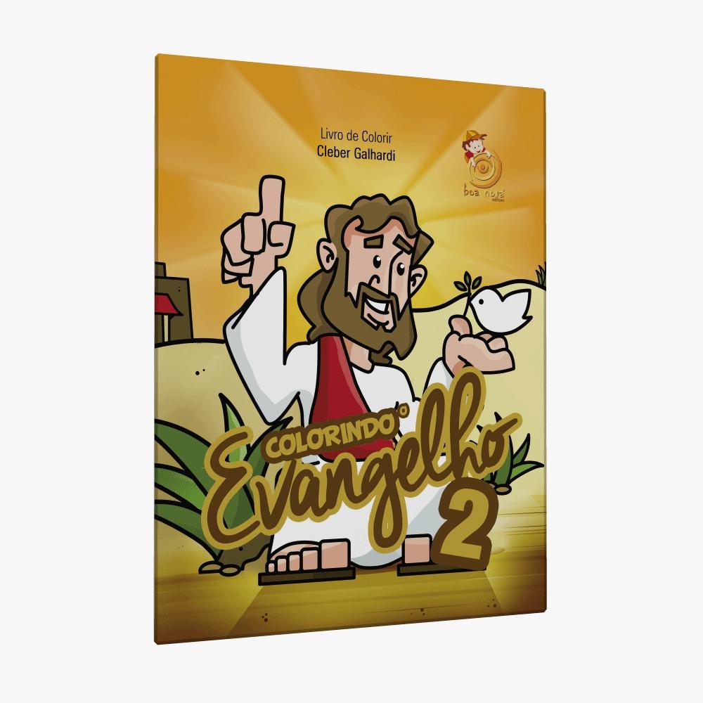 Colorindo o evangelho 2