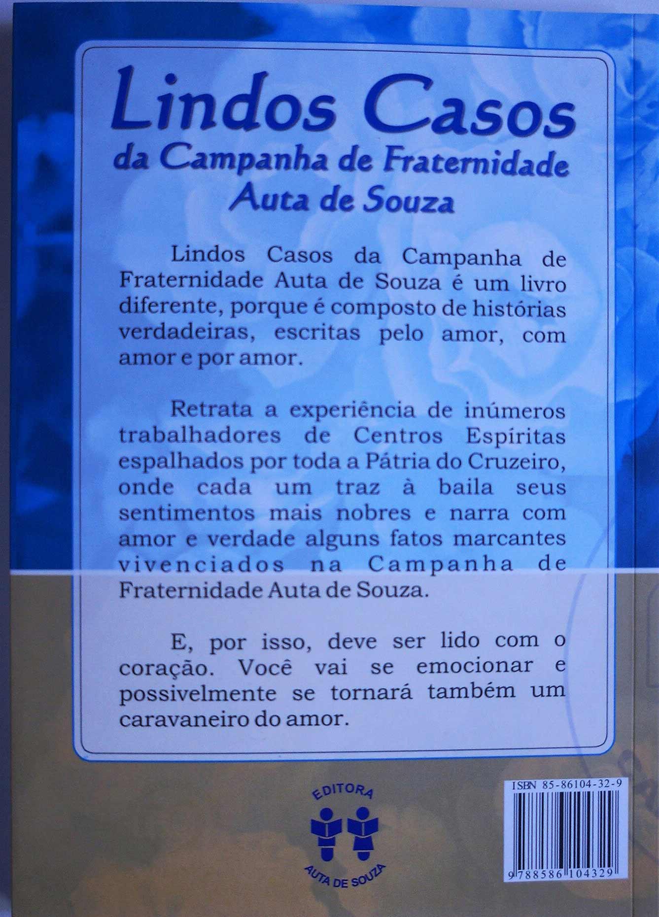LINDOS CASOS DA CAMPANHA DE FRATERNIDADE AUTA DE SOUZA