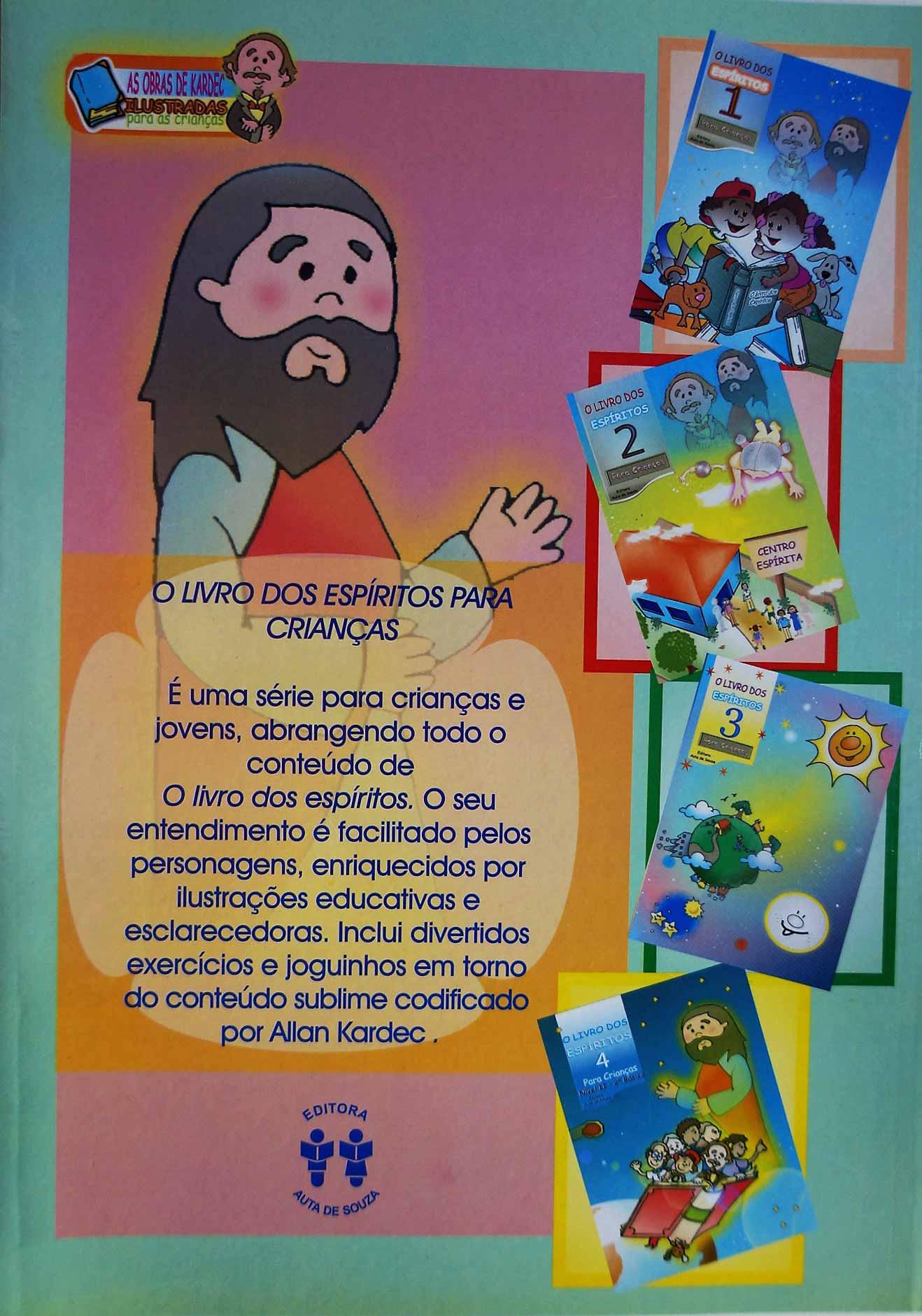 LIVRO DOS ESPÍRITOS 3 - PARA CRIANÇAS