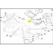 Lanterna Tras LE, Fiat, Grand Siena, 51842802