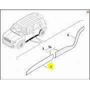 Moldura Porta Dianteira LE, Jeep, Renegade, 735599028