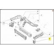 Reforço Painel Frontal, Fiat, Palio, Siena, Strada, 46750364