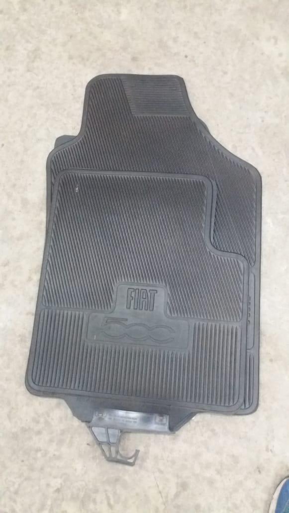 Jogo de tapetes de borracha Fiat 500 7088189
