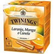 Chá Twinings of London Laranja, Manga e Canela