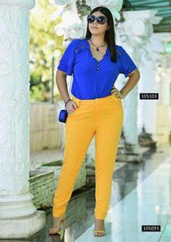 Calça Alfaiataria Yellow