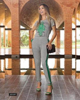 Conjunto Estampa Green