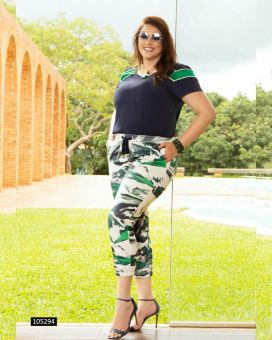 Conjunto Estampado Green
