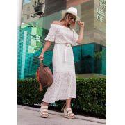 Vestido Branco em Laisie
