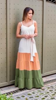 Vestido Longo Paula Viana