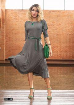 Vestido Midi Vivos Green