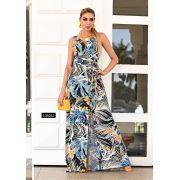 Vestido Rayon Longo