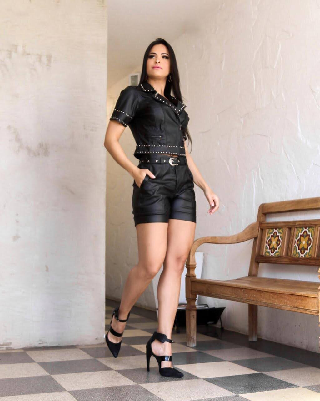 Jaqueta Lana Rosa