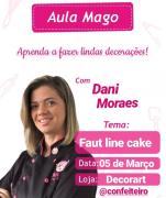 CURSO 05/03 13:30 ÀS 17:00 MAGO FAULT LINE CAKE