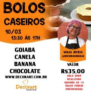 CURSO 10/03 BOLOS CASEIROS 13:30 ÁS 17:00 com Vanja Myrta
