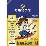 BLOCO DESENHO A3 140G/M² 20FLS CANSON