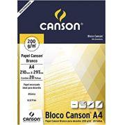 BLOCO DESENHO A4 200G/M² CANSON 20FLS CANSON