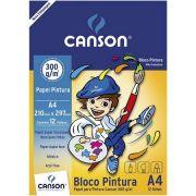 BLOCO PINTURA A4 300G/M² CANSON 12FLS CANSON