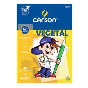 BLOCO VEGETAL A4 60G/M² 50FLS CANSON