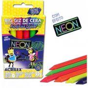 GIZ CERA BIG NEON 6 CORES ACRILEX